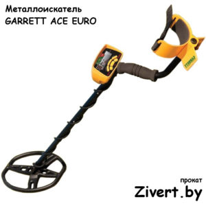 Аренда металлоискателя Garrett ACE EURO в Минcке